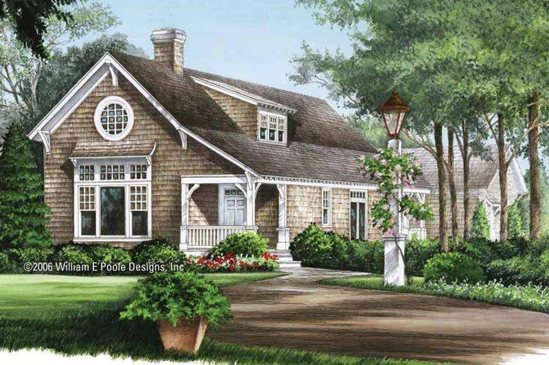 Colonial Exterior - Front Elevation Plan #137-324 - Houseplans.com
