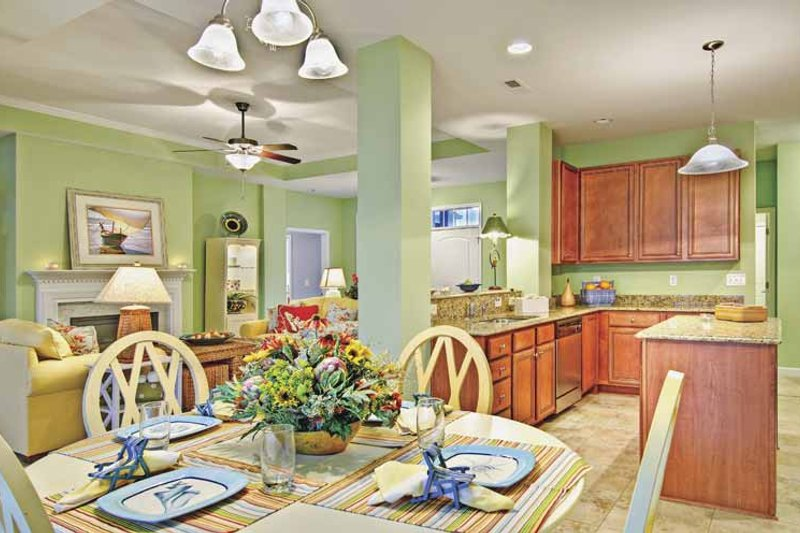 Country Interior - Kitchen Plan #930-367 - Houseplans.com