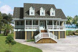 coastal house plans - floorplans