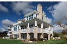 House Design - Craftsman Exterior - Rear Elevation Plan #928-229
