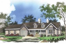 Architectural House Design - Country Exterior - Front Elevation Plan #929-163