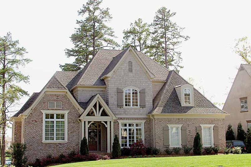 European Exterior - Front Elevation Plan #453-315 - Houseplans.com