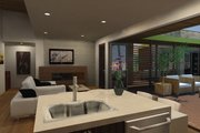 Contemporary Style House Plan - 3 Beds 3 Baths 1350 Sq/Ft Plan #484-12 Interior - Other