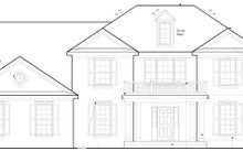 House Plan Design - Colonial Exterior - Front Elevation Plan #1053-48