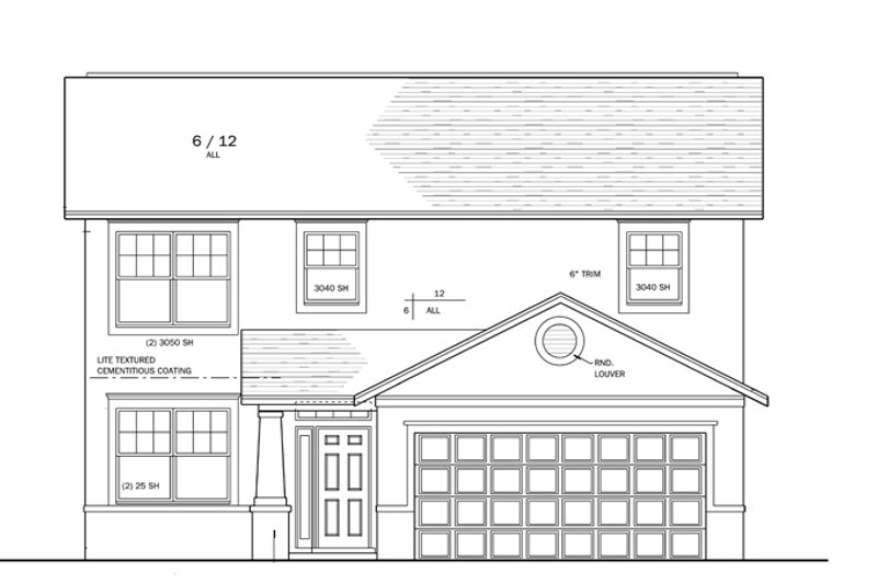 Craftsman Exterior - Front Elevation Plan #1058-20 - Houseplans.com