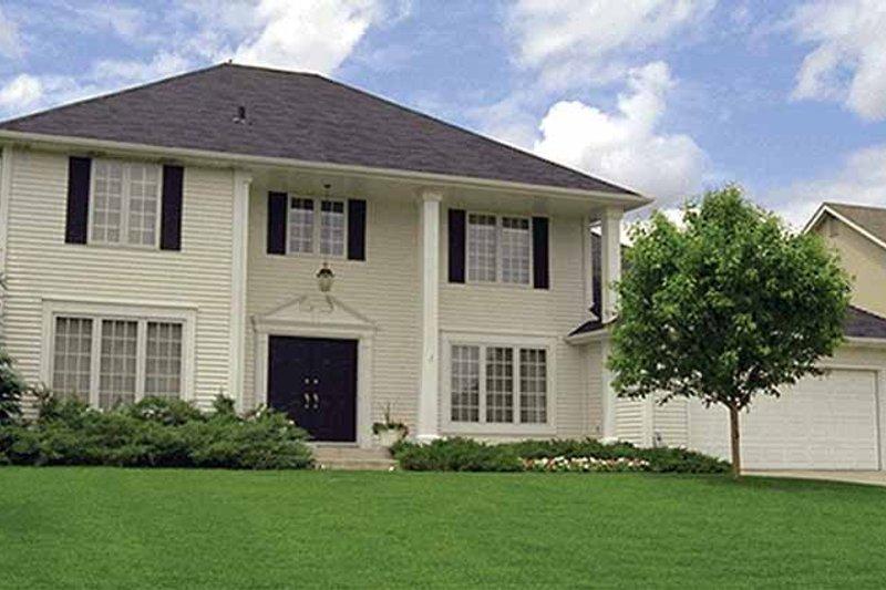 Classical Exterior - Front Elevation Plan #51-892 - Houseplans.com