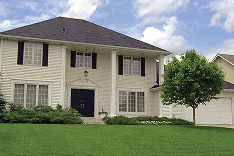 Dream House Plan - Classical Exterior - Front Elevation Plan #51-892