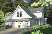 Craftsman Style House Plan - 3 Beds 2.5 Baths 2575 Sq/Ft Plan #120-248 Exterior - Other Elevation