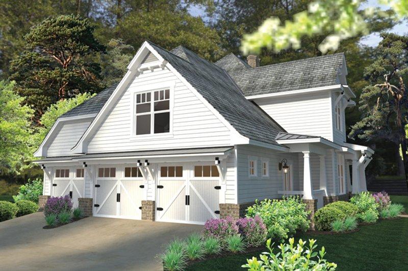 Craftsman Exterior - Other Elevation Plan #120-248 - Houseplans.com