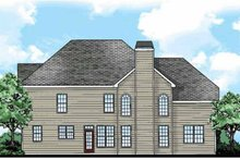 Classical Exterior - Rear Elevation Plan #927-880