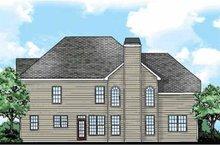 Classical Exterior - Rear Elevation Plan #927-880