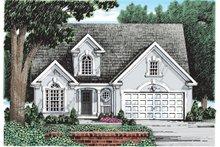 House Plan Design - Mediterranean Exterior - Front Elevation Plan #927-247