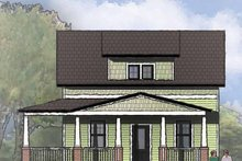 Architectural House Design - Craftsman Exterior - Front Elevation Plan #936-9