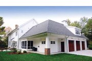 Colonial Style House Plan - 4 Beds 3.5 Baths 3448 Sq/Ft Plan #928-97 Exterior - Other Elevation