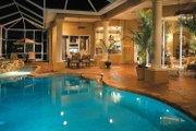 Mediterranean Style House Plan - 3 Beds 2.5 Baths 2907 Sq/Ft Plan #930-60 Exterior - Rear Elevation