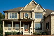 Dream House Plan - Country Exterior - Front Elevation Plan #927-737