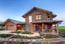 Home Plan - Prairie Exterior - Front Elevation Plan #1042-18