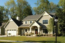 House Design - Country Exterior - Front Elevation Plan #928-96