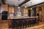 Traditional Style House Plan - 5 Beds 4.5 Baths 4624 Sq/Ft Plan #928-33 Interior - Kitchen