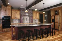 Traditional Interior - Kitchen Plan #928-33