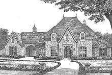 House Plan Design - European Exterior - Front Elevation Plan #310-1256