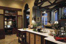 Mediterranean Interior - Kitchen Plan #1039-2