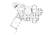 European Floor Plan - Main Floor Plan Plan #929-895