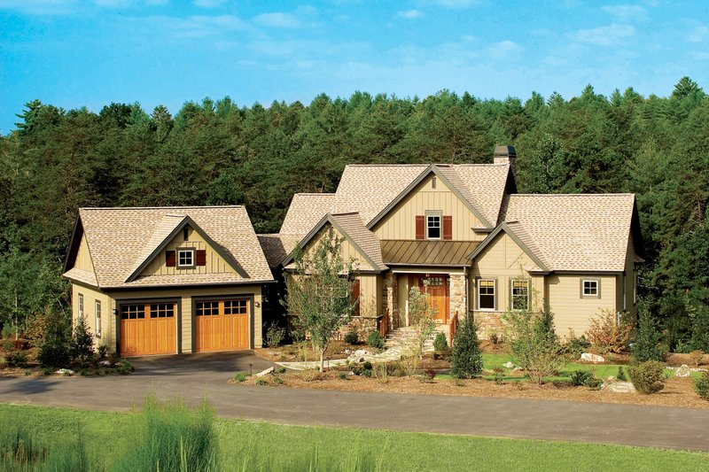 European Exterior - Front Elevation Plan #929-891 - Houseplans.com