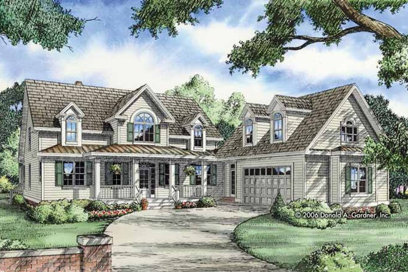 Home Plan - Country Exterior - Front Elevation Plan #929-808