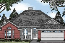 House Plan Design - Ranch Exterior - Front Elevation Plan #42-449
