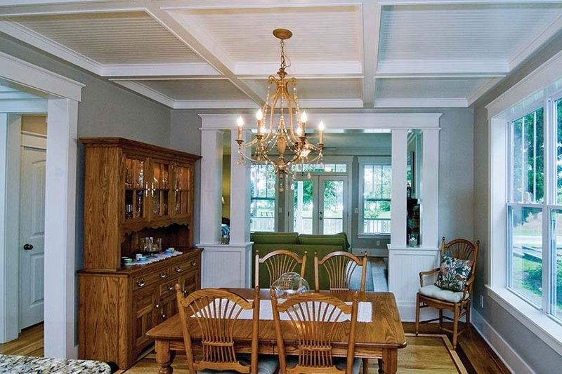 Country Interior - Dining Room Plan #929-518 - Houseplans.com