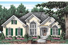 House Design - Mediterranean Exterior - Front Elevation Plan #927-52