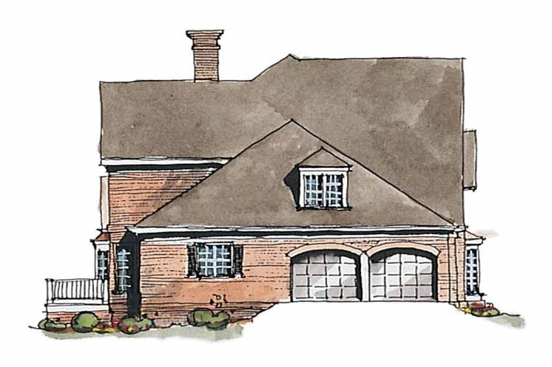 Traditional Exterior - Other Elevation Plan #429-187 - Houseplans.com