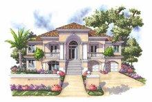 Home Plan - Mediterranean Exterior - Front Elevation Plan #930-161