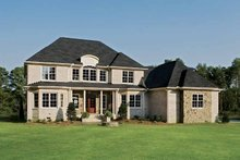 Dream House Plan - Country Exterior - Rear Elevation Plan #929-678