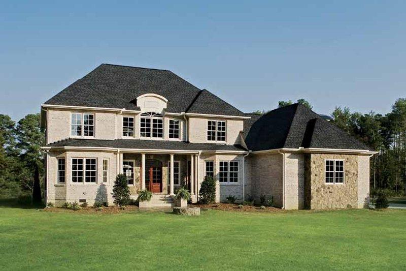 Country Exterior - Rear Elevation Plan #929-678 - Houseplans.com
