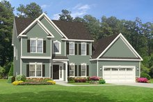 House Plan Design - Traditional Exterior - Front Elevation Plan #1010-119