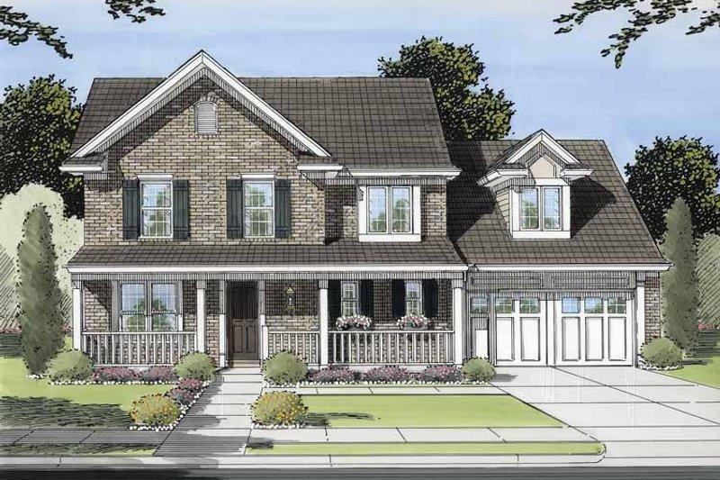 Victorian Exterior - Front Elevation Plan #46-552 - Houseplans.com