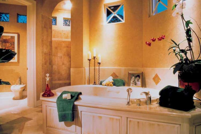 Mediterranean Interior - Bathroom Plan #930-110 - Houseplans.com