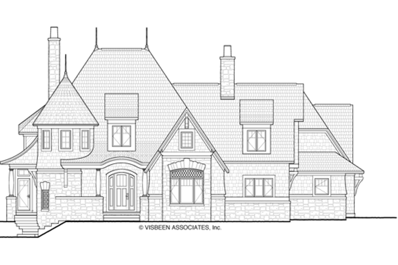 Craftsman Exterior - Front Elevation Plan #928-244 - Houseplans.com