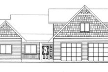 House Plan Design - Craftsman Exterior - Front Elevation Plan #117-859