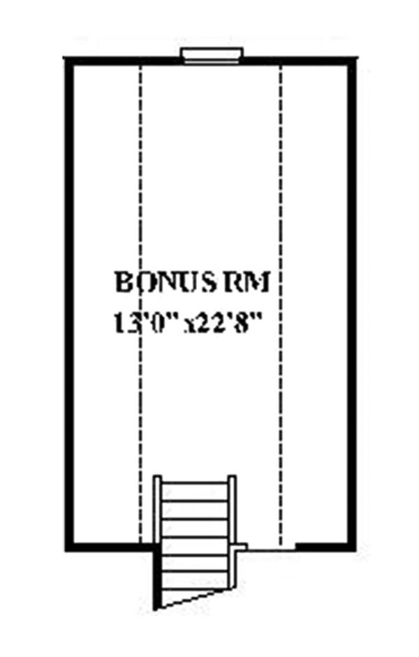 Ranch Floor Plan - Other Floor Plan Plan #991-28