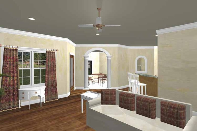 Traditional Interior - Family Room Plan #44-213 - Houseplans.com