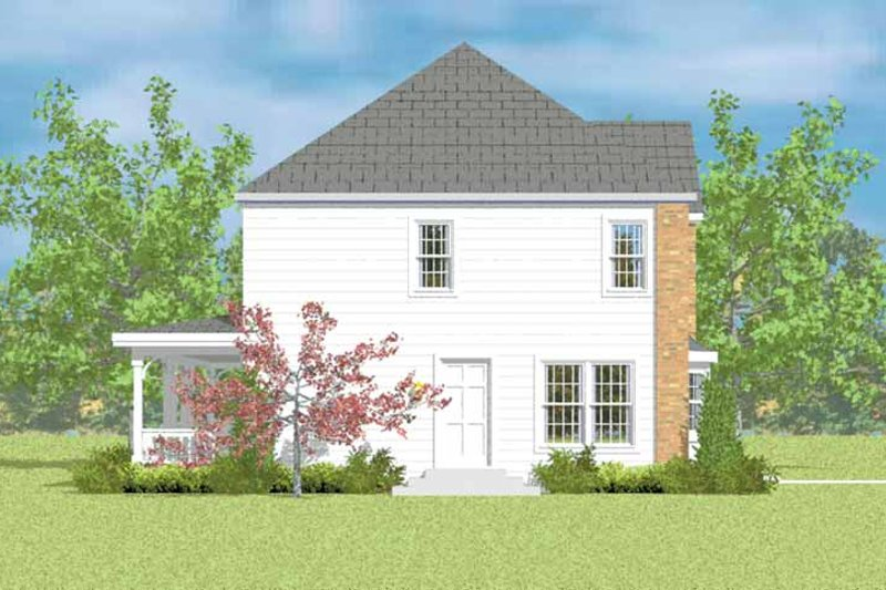 Colonial Exterior - Other Elevation Plan #72-1083 - Houseplans.com