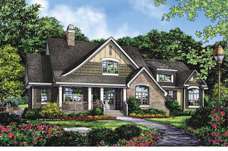 Craftsman Exterior - Front Elevation Plan #929-879 - Houseplans.com