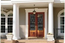 Classical Exterior - Front Elevation Plan #37-275