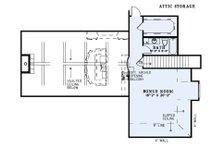 Craftsman Floor Plan - Upper Floor Plan Plan #17-3391