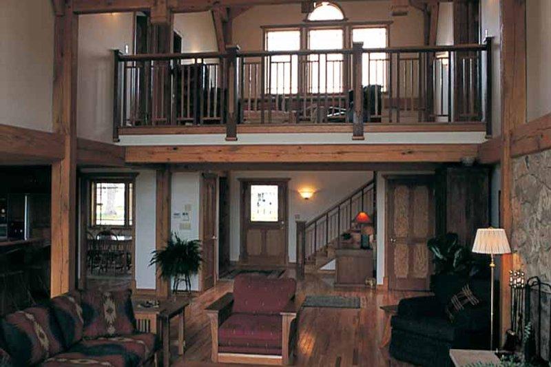 Craftsman Interior - Family Room Plan #1016-45 - Houseplans.com
