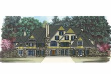 Country Exterior - Front Elevation Plan #119-403