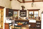 Traditional Style House Plan - 2 Beds 1 Baths 1312 Sq/Ft Plan #1042-8 Interior - Kitchen